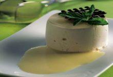 Receta de Bavarois de leche con vainilla
